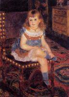 Сидящая Жоржетта Шарпантье