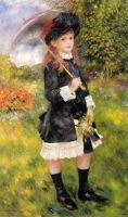 Девочка с зонтиком (также известная как Алина Нуньес)