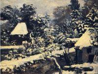 Пейзаж, после снега