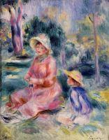 Мадам Ренуар и ее сын Пьер