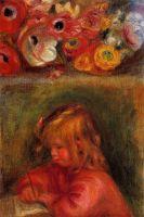 Портрет Коко и цветы