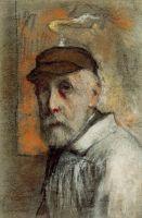 Автопортрет в белой шляпе