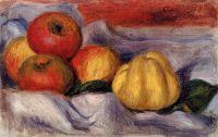 Натюрморт с яблоками и грушами