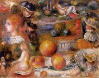 Эскизы - Головы женщин, обнажённые, пейзажи и персики