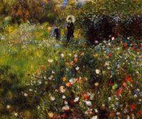 Летний Пейзаж (также известная как Женщина с зонтиком в саду)