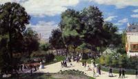 Елисейские поля во время парижской ярморки