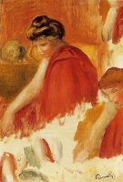 Две женщины в красных одеждах