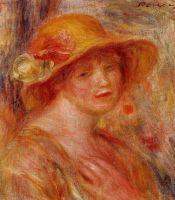 Женщина в соломенной шляпе