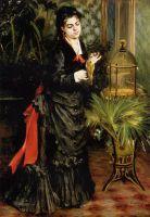 Женщина с попугаем (также известная как Генриетта Дарра)