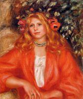 Девушка с цветочным венком