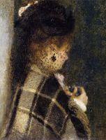 Девушка в покрывале