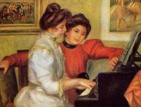 Ивонн и Кристин Леролль за роялем