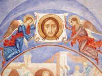 Ангелы с образом Спаса Нерукотворного.