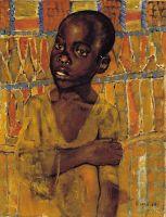 Африканский мальчик.