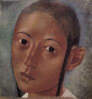 Голова мальчика-узбека.