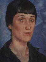 Портрет А.А.Ахматовой.