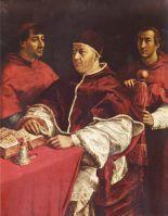 Портрет Льва Х с кардиналами Джулиано Медичи и Луиджи Росси