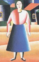 Девушка в деревне