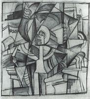 Кубофутуристическая композиция