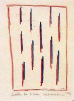 Мотивы для супрематической ткани. Образцы для текстиля. Вторая половина .