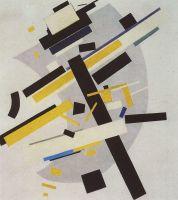 Супрематизм (Supremus №58, желтое и черное)