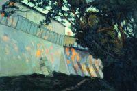 Стены Саввино-Сторожевского Звенигородского монастыря