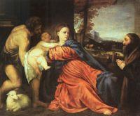 Святое семейство и даритель
