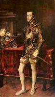 Портрет принца Филиппа Испанского, позже Филиппа II