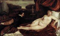 Венера ,органист и собачка