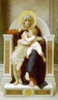 Богородица, Иисус и Иоанн Креститель
