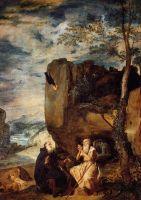 Аббат Св. Антоний и отшельник апостол Павел