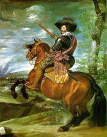 Граф-герцог Оливарес на коне