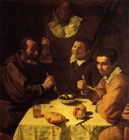 Три мужчины за столом