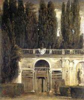 Вилла Медичи, большая лоджия фасада