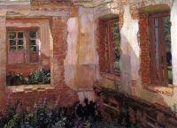 Развалины дома.
