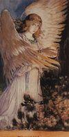 Ангел с лампой.