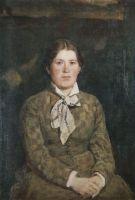 Портрет А.В.Васнецовой, жены художника.