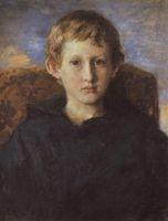 Портрет Бориса Васнецова, сына художника.