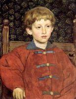 Портрет Владимира Васнецова, сына художника.