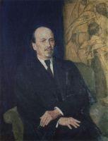 Портрет М.В.Нестерова.