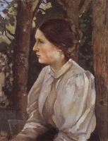 Портрет Татьяны Викторовны Васнецовой, дочери художника.