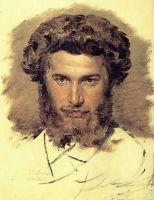 Портрет художника А.И.Куинджи.