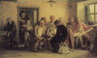 Чаепитие в трактире (В харчевне).