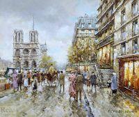 Париж, 1900г., Нотр-Дам