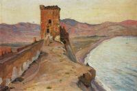 Консульская башня в Судаке