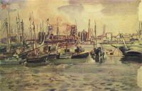 Мариупольский порт и завод