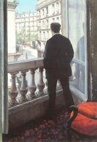 Молодой человек в окне
