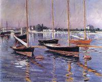 Лодки на Сене, порт  Аржантей