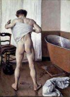 Человек в ванной