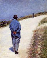 Человек в халате (также известный, как отец Маглуар на дороге между Сант-Клер и Этрета)